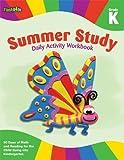 Summer Study Daily Activity Workbook: Grade K (Flash Kids Summer Study)