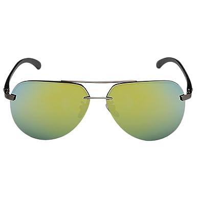 Ms. Männer Metallrahmen Polarisierte Sonnenbrillen Antriebsbewegung Mehrfarben- Optional,135mm-C6