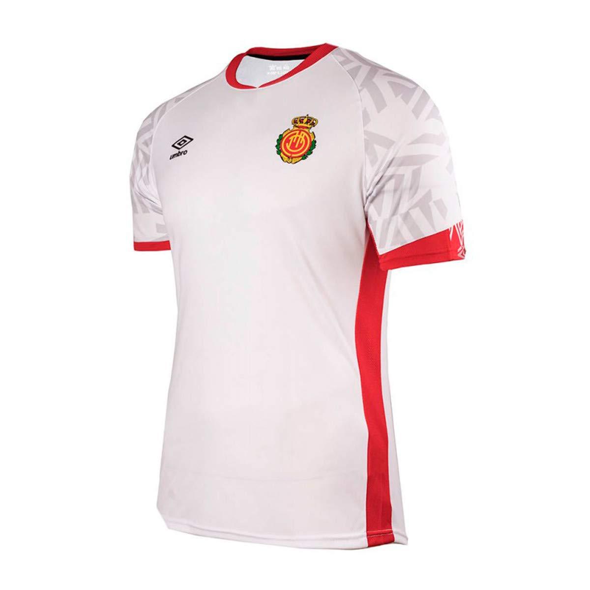 UMBRO RCD Mallorca Segunda Equipación 2019-2020, Camiseta, Blanco ...