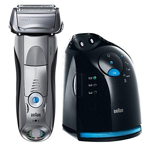 Braun Series 7 799cc-7 elektrischer Rasierer / Rasierapparat (mit Reinigungsstation (CleanundCharge), Elektrorasierer einsetzbar als Trockenrasierer und Nassrasierer (Wet und Dry))