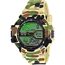 ZIERA Digital Multicolour Dial Men's Watch   ZR904