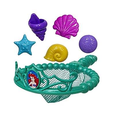 SwimWays Disney Princess Ariel Tiara Net - Swimming Dive and Catch Games - Mermaid Pool Toys: Toys & Games