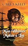Front cover for the book Miss Whittier Makes a List by Carla Kelly