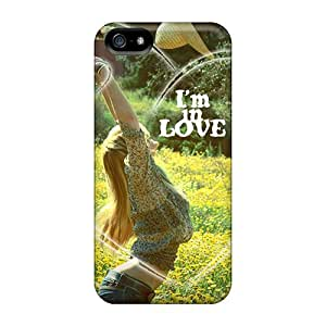 Protective Tpu Case With Fashion Design For Iphone 5/5s (love)