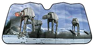 Plasticolor 003724R01 Star Wars Hoth Scene Accordion Bubble Sunshade
