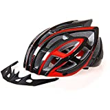 ezyoutdoor Bike Helmet Cycling Helmet Ultralight Integrally-molded with Air Vents Bicycle Helmet (Black)