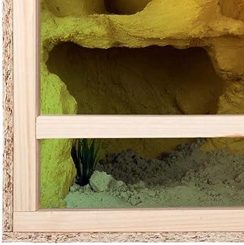 Terrario de tamaño grande de madera para reptiles, para interiores ...