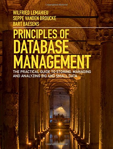 Principles of Database Management Front Cover