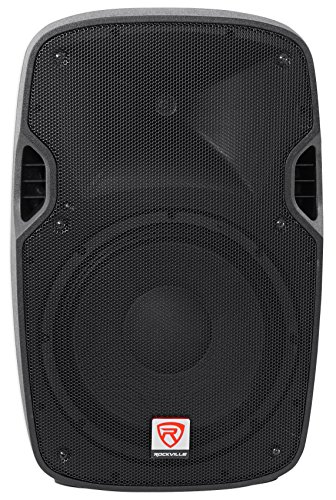 Rockville SPGN128 12 Inches Passive 1200W DJ PA Speaker ABS Lightweight Cabinet 8 Ohm ()