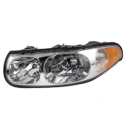 Lesabre Replacement Driver Buick - Drivers Headlight Headlamp Replacement for Buick 19245377 AutoAndArt