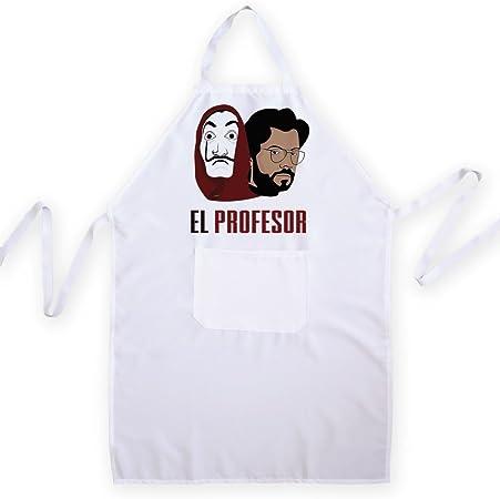Chamalow Shop Tablier De Cuisine La Casa De Papel El Profesor