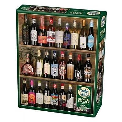 Cobblehill Puzzles 1000 Pc Wine Alphabet