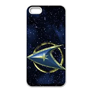 Customized Star Trek Rubber Cover Case for iPhone 5/5S-5SRTL008ST