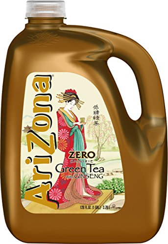 Arizona Diet Green Tea with Ginseng 128 oz (Pack of 4) (Diet Green Tea Arizona)