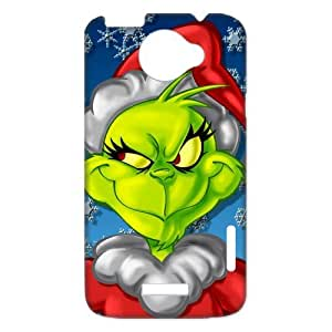Phone Casae Custom Christmas The Grinch for HTC One X Case