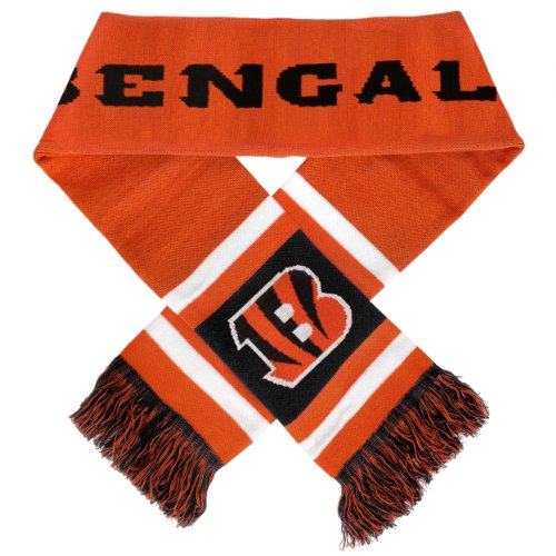 Team Stripe Scarf (NFL Cincinnati Bengals 2012 Team Stripe Scarf)