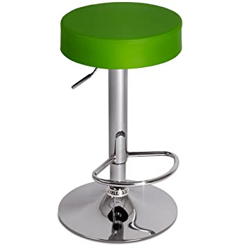 Miadomodo Swivel Bar Stool Round Height Adjustable Chair Kitchen
