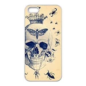Skull CUSTOM Cover Case for iPhone ipod touch4 LMc-085ipod touch44 at LaiMc