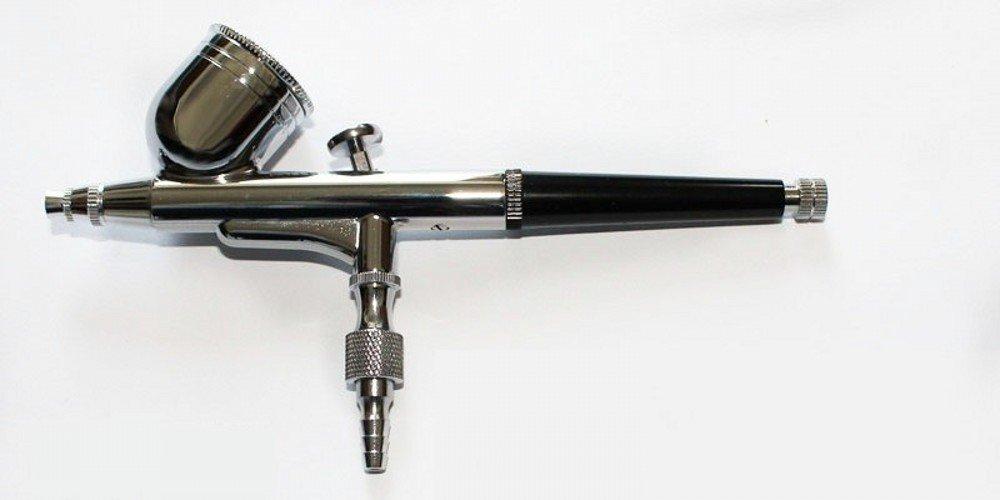 ABESTAIR Doble Acci/ón aer/ógrafo compresor conjunto de herramientas completo para la torta de inyecci/ón de tinta de impresi/ón man/ía modelo