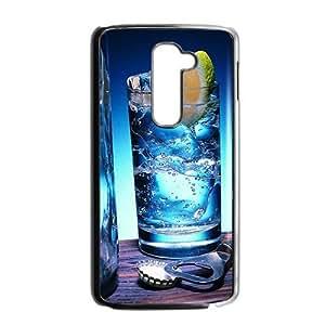 Fresh lemon drink fashion phone case for LG G2