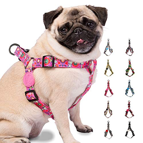Snoopy Easy Walk Harness for Small Dogs & Large Breeds | Exclusive Peanuts Licensee pet safe easy walk dog harness - Comfortable Fit, Soft Safety-Tested easy-walk harnesses in 10 unique designs