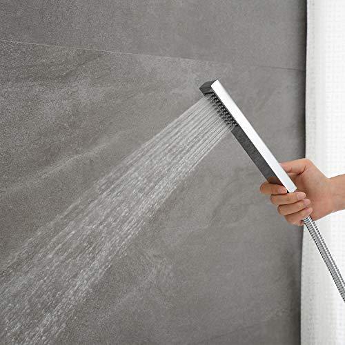 Artiqua Freestanding Tub Filler Bathtub Faucet Chrome Floor Mounted Faucets with Handheld Shower