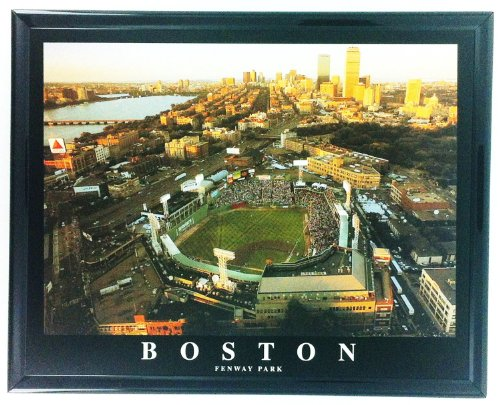 Fenway Park Framed Photo (Framed Baseball Red Sox Boston Fenway Park Stadium F7504A)