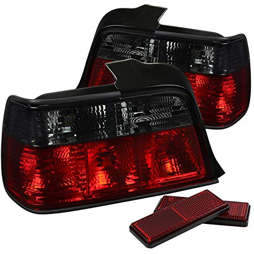 (Spec-D Tuning LT-E364RG-APC Spec-D 3 Series Altezza Tail Light Red Smoke)