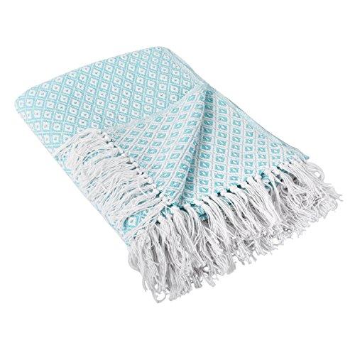 DII Farmhouse Diamond Blanket Everyday