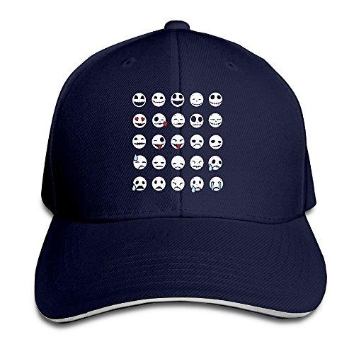 Karoda Emoti Skeletons Sandwich Hunting Peak Hat & Baseball Cap -