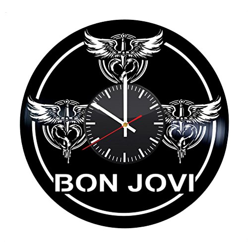 ds Wall Clock - American Rock Band Wall Art Room Decor Handmade Decoration Party Supplies Theme Stuff Birthday Gift for Fans - Vintage and Modern Style ()