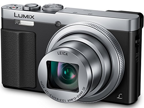 PANASONIC LUMIX ZS50 Camera, 30X LEICA DC Vario-ELMAR Lens, 12.1 Megapixels, High Sensitivity Sensor, Eye Viewfinder, DMC-ZS50S (USA SILVER)