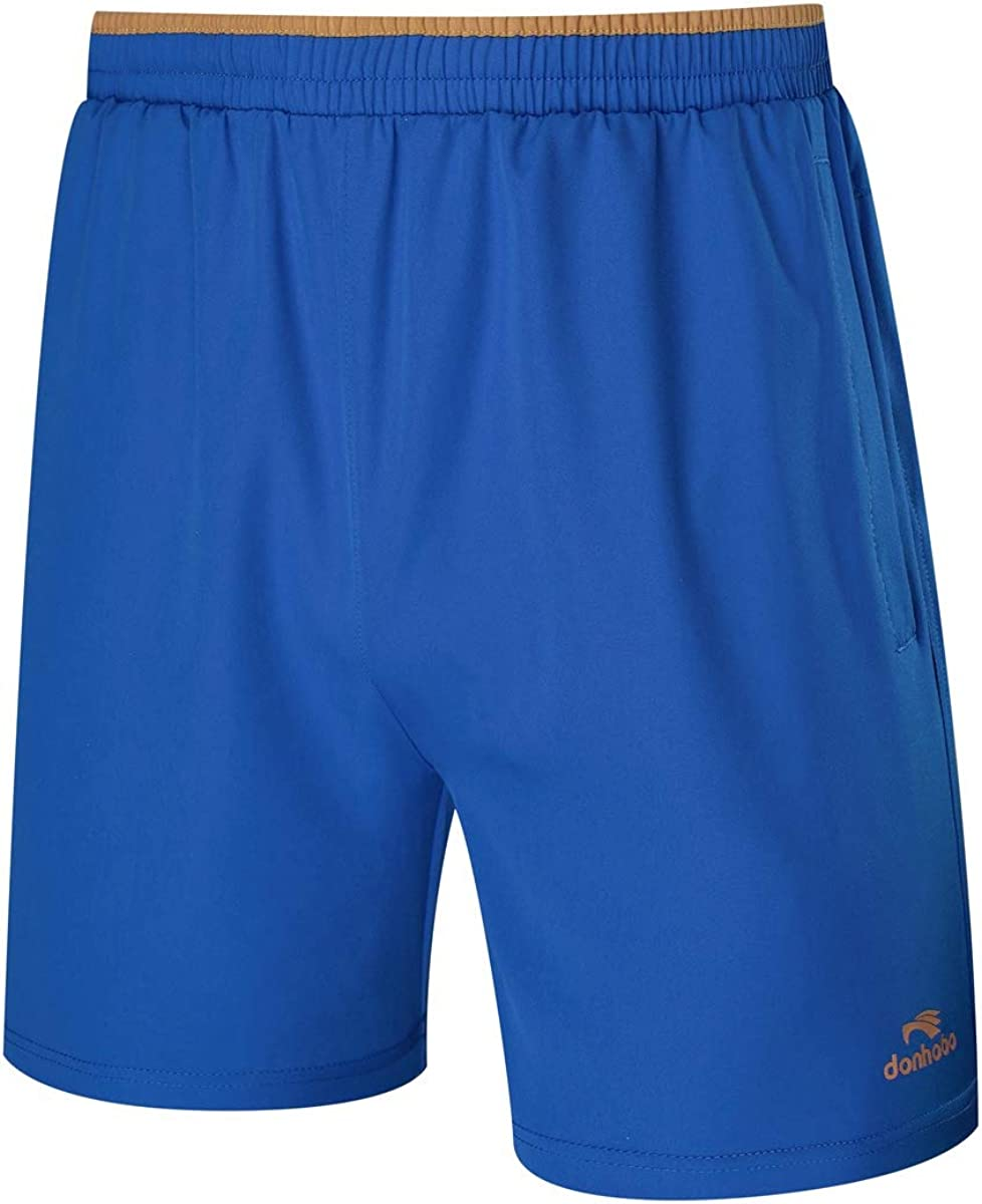 Rdruko Mens Sports Outdoor Quick Dry Lightweight Jogging Workout Gym Shorts