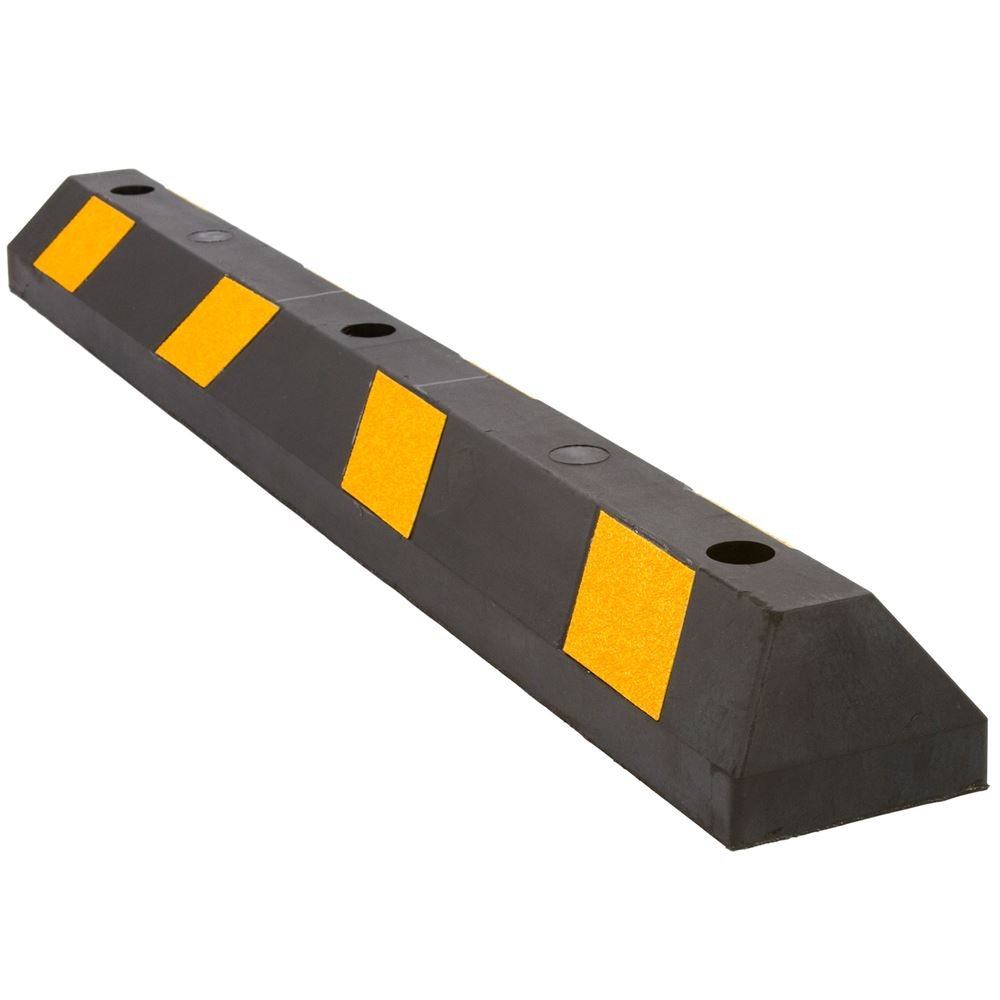Guardian DH-PB-9 Heavy Duty Rubber Parking Curb-48 Long by Guardian (Image #1)