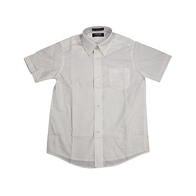 French Toast School Uniform Boys Short Sleeve Classic Dress Shirt