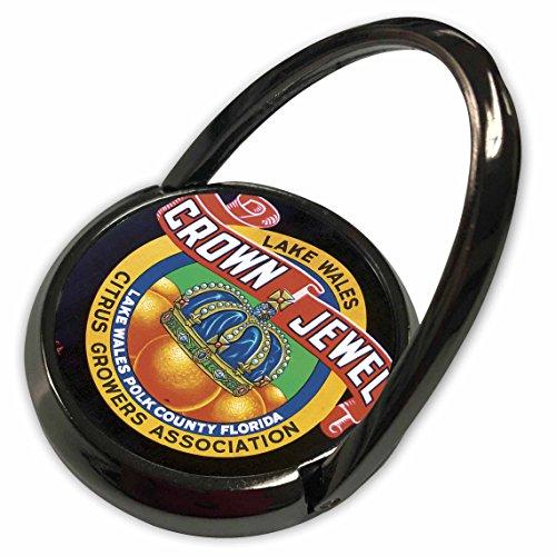3dRose BLN Vintage Fruit and Vegetable Crate Labels - Vintage Lake Wales Crown Jewel Citrus Growers Association - Phone Ring (phr_129855_1)