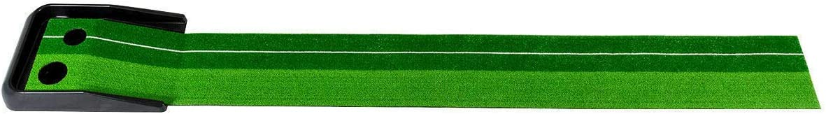 Home Rich Mat Training Practice Indoor Putting Green Golf Turf Ball Return in/Outdoor