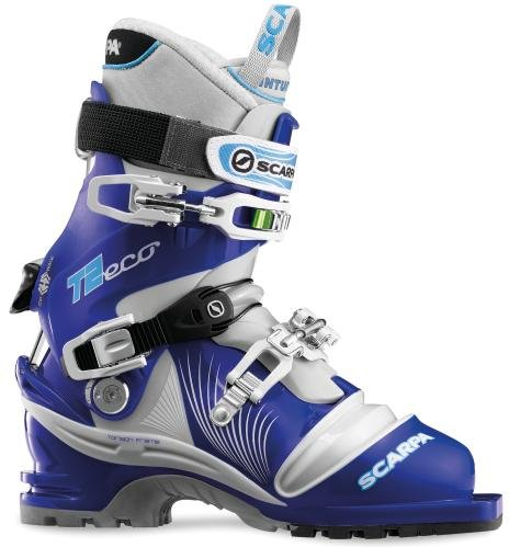 SCARPA Women's T2 Eco Ski Boots (Olympic/Light Grey, 22.5)