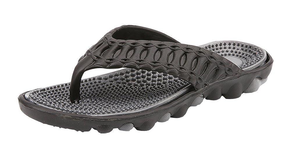 26108692edc Yooeen Tong Hommes Été Casual EVA Tongs de Plage Confortable Pantoufles  Flip Flops Antidérapante Chausson Piscine ...