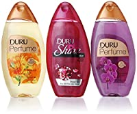 Duru 3 Piece Shower Gel Variety Pack, Ruby/Lily/Orchid