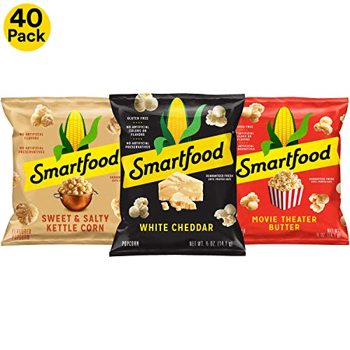 Mini Popcorn Bags (Smartfood Popcorn Variety Pack, 40)