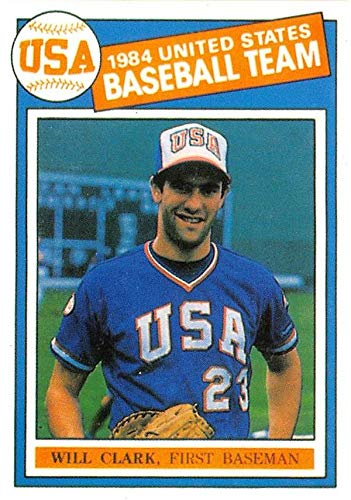Will Clark baseball card 1984 USA Olympic Sponsor #22