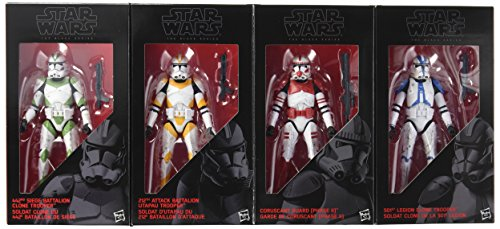 Star Wars The Black Series Clone Troopers of Order 66 6-Inch Action Figures