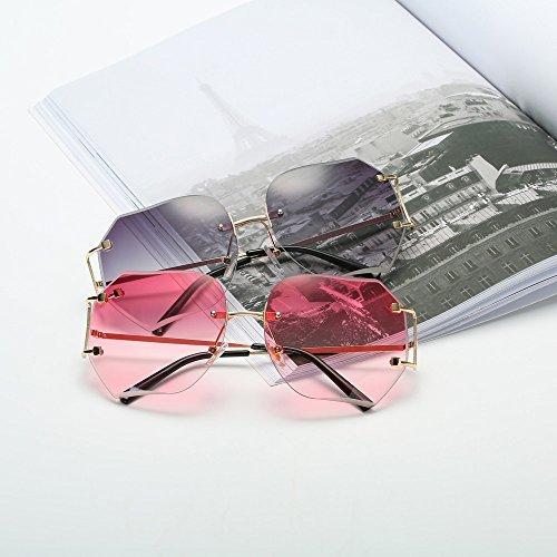 ... Lunettes De Soleil Covermason Hommes femmes lentille transparente  verres Spectacle Metal Frame myopie lunettes Lunette Femme ... b802bce0c34