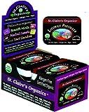 St. Claire's Organics Licorice Pastilles, 1.5 oz Tin (Pack of 6)