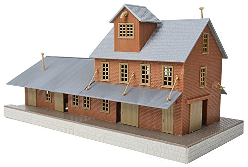 Walthers, Inc. Brick Freight House Kit (Kit Freight)