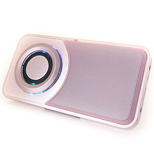 SHABA Ultra Slim Pocket Portable Bluetooth Speaker with Phon