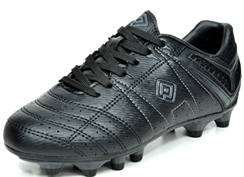 Dream Pairs Mens 160471 M Black Grey Cleats Football Soccer Shoes   6 5 M Us