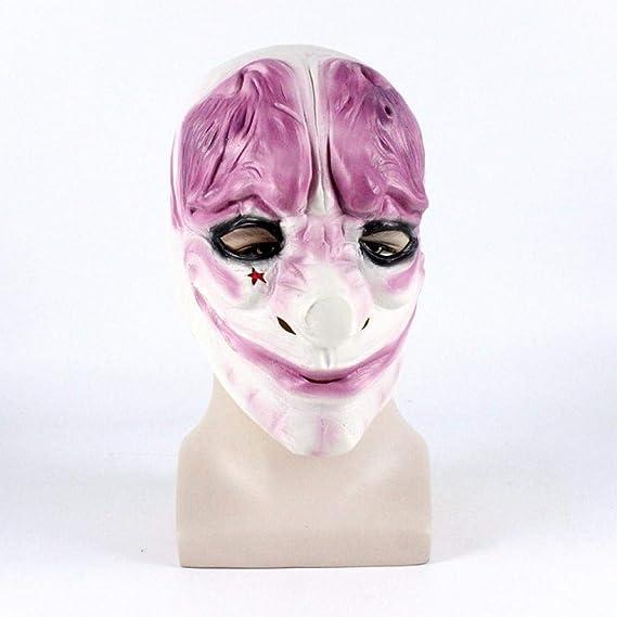 Nwarmsouth Novedad Máscara de látex de Fiesta de Disfraces de ...