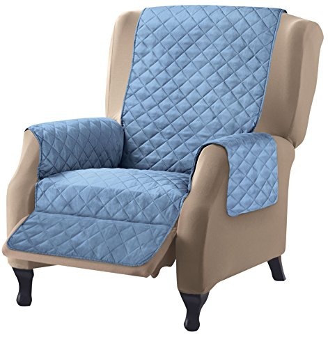 Collections Etc Reversible Quilted Furniture Cover